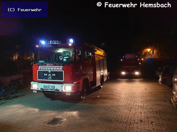 Brandeinsatz vom 09.06.2019  |  (C) Feuerwehr (2019)