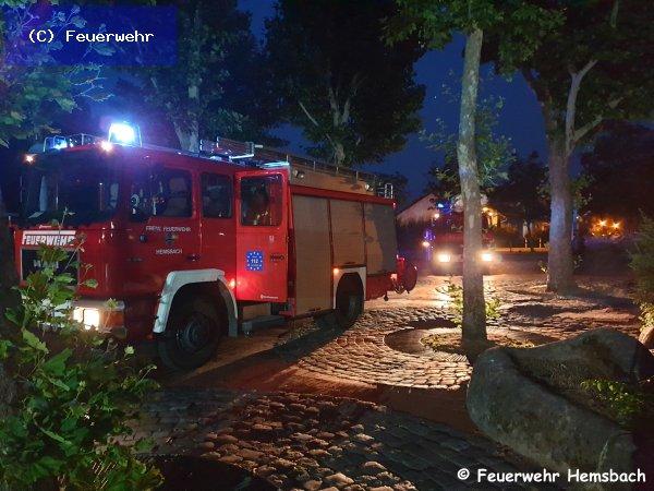 Brandeinsatz vom 26.06.2019  |  (C) Feuerwehr (2019)