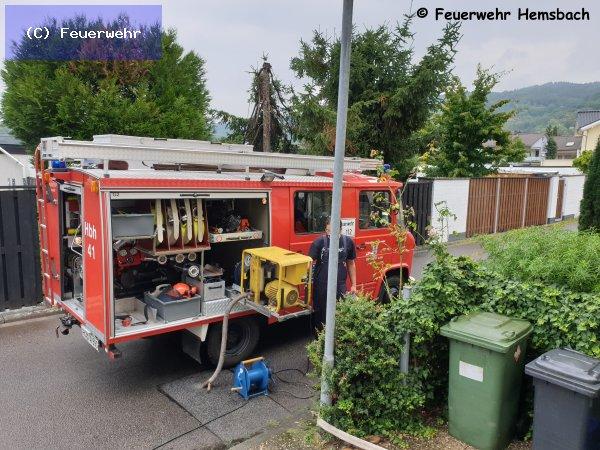 Techn. Hilfeleistung vom 28.07.2019  |  (C) Feuerwehr (2019)