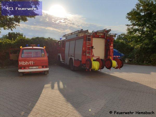 Brandeinsatz vom 30.07.2019  |  (C) Feuerwehr (2019)
