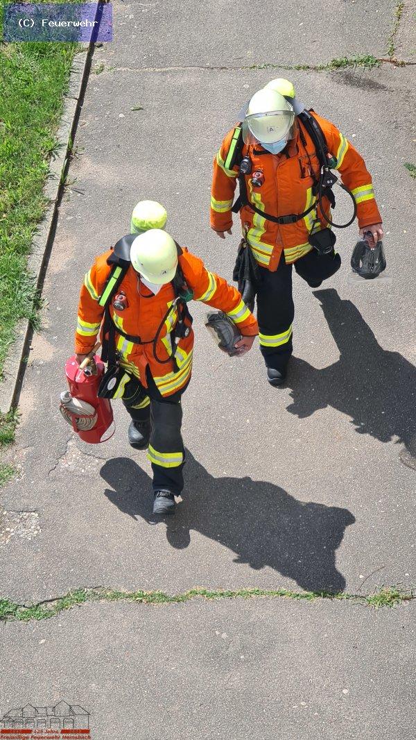 Brandeinsatz vom 18.07.2021     (C) Feuerwehr (2021)