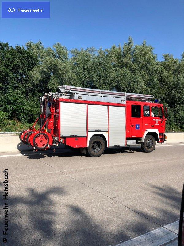 Brandeinsatz vom 25.06.2019  |  (C) Feuerwehr (2019)