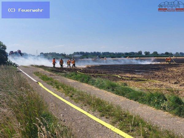 Brandeinsatz vom 19.07.2021  |  (C) Feuerwehr (2021)